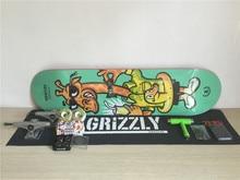 Complete font b Skateboarding b font Set UNION Skate Deck font b Trucks b font Girl