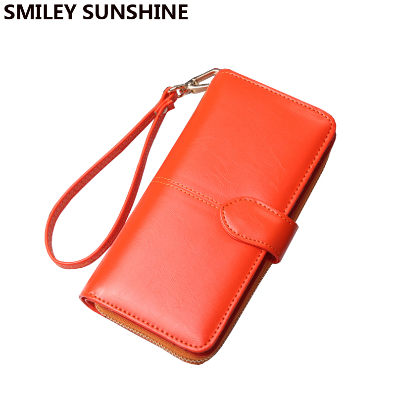 Big Women Röd Plånböcker Wristlet Fashion Card Holder Plånböcker - Plånböcker - Foto 5