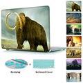 Wooly Mammoth Elephant Giraffe Pattern Laptop Sleeve Case For Macbook Air 11/Air 13 Pro 13/Pro 15 Pro Retina 12/13/15