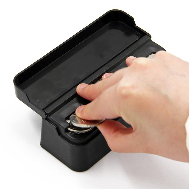 Car Organizer Rolls Plastic Pocket Telescopic Dash Coins Case Storage Box Holder Container