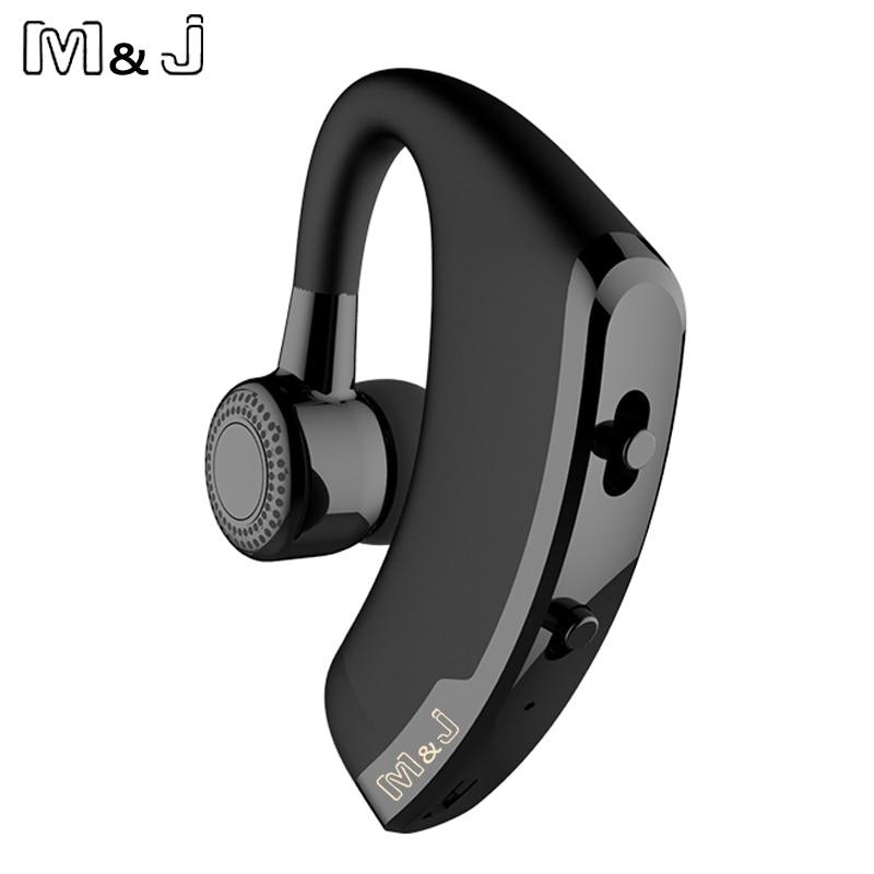 M & J V9 сымсыз Bluetooth гарнитурасы Бизнес - Портативті аудио және бейне - фото 2