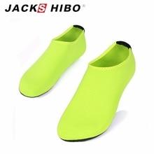 JACKSHIBO 2016 Summer New Design Men Women slipony Water Shoes sandalias Aqua Socks Slippers for Beach Slip On Waterpark Sandals