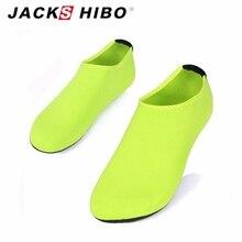 JACKSHIBO Summer New Design unisex Women Slipony Water Shoes Female Sandalias Slip On Aqua Slippers for Beach Waterpark Sandals