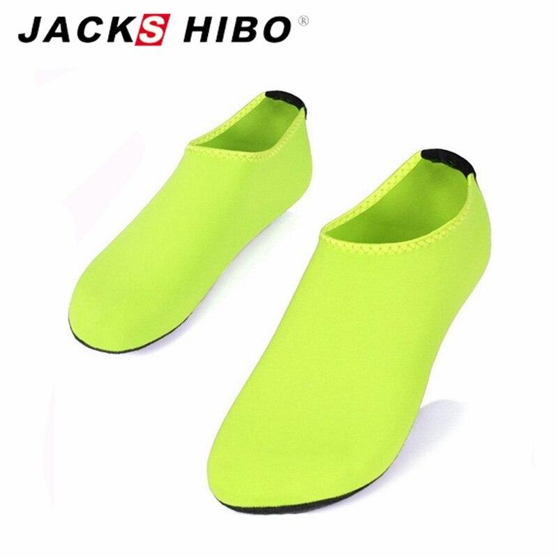 JACKSHIBO/Летние женские сандалии слипоны водонепроницаемая обувь женские сандалии aqua Шлёпанцы для женщин для пляжа аквапарк Сандалии для девочек Chaussure Femme