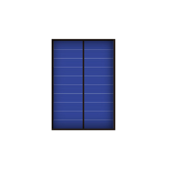 Mini 5V 1W 200mA Solar Panel Polycrystalline Solar Cells Supply Power Panel Module DIY Battery for Cell Phone Toy Chargers 1