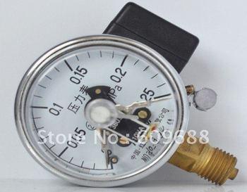 electric-contact pressure gauge , Dial diameter 60mm,YX-60 0-0.25MPA