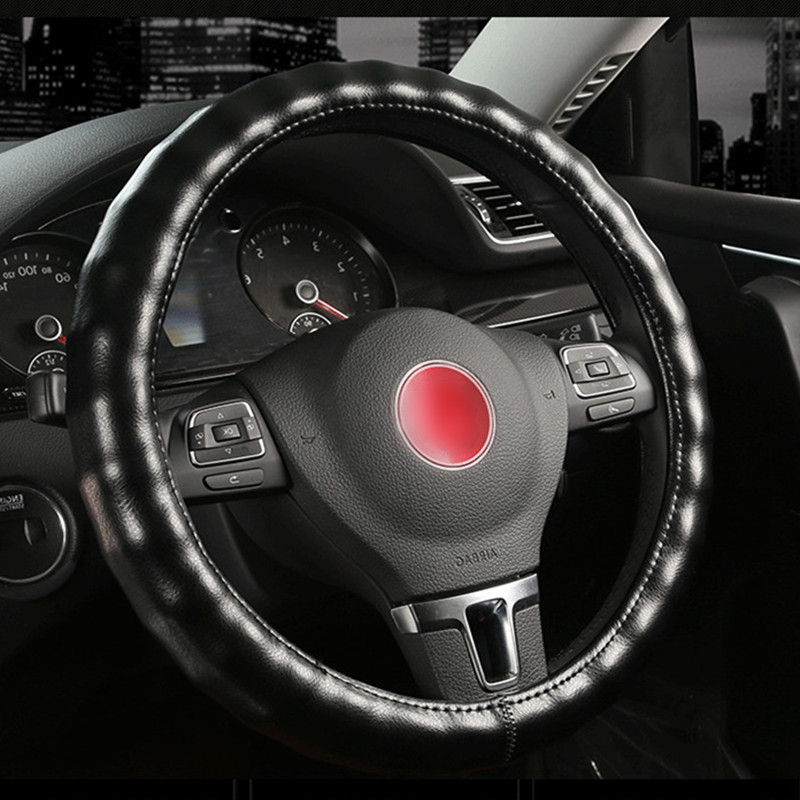 Peugeot Faux Leather Steering Wheel Cover Beige Archives