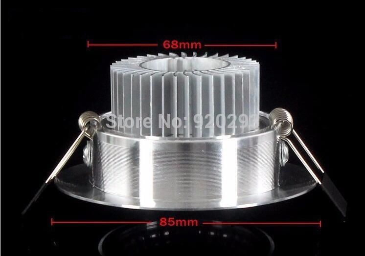 Super Bright 1 stk. Dimmable Led Downlight Light COB Loft ac110-220v - Indendørs belysning - Foto 4