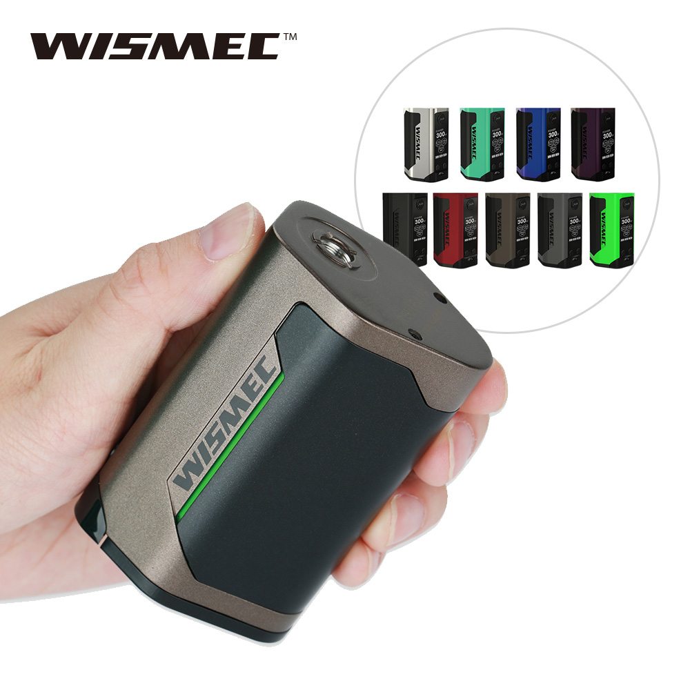 Original 300 W WISMEC Reuleaux RX GEN3 TC caja MOD. 300 W No18650 caja de batería Mod enorme poder E -Cig Mod Vape del Drag 2/luxe mod
