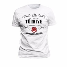 T Shirt Türkei Original Canakkale Ehre Stolz Land 2019 Neue Sommer Mode Kurzen Ärmeln Baumwolle Design Ihre Eigenen T Hemd
