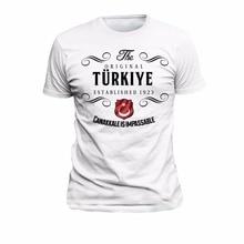 T shirt Turkije Originele Canakkale Eer Trots Land 2019 Nieuwe Zomer Fashion Korte Mouwen Katoen Ontwerp Uw Eigen T shirt