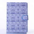 Elephants blue waves Leather Flip Case for Apple iPad air1 2 with iPad mini 2 3 4 iPad 2 3 4 pro Case Stand case Free Shipping
