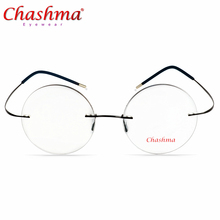 Screwless Eyewear Prescription Eyeglasses Women Ultralight 2018 Round Myopia Optical Denmark Korean Glasses Frame Men Titanium screwless eyewear prescription eyeglasses women ultralight 2018 round myopia optical denmark korean glasses frame men titanium