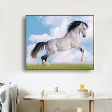 Galloping Horse Animals Canvas Painting Calligraphy Poster and Prints Living Room House Wall Decor Art Home Decoration Picture стоимость