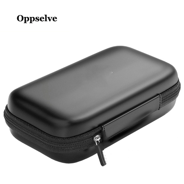Portable USB Cable Storage Organizer Bag Waterproof Shockproof Pouch For Earphone Power Bank Digital Sorting Travel Insert Cases 2