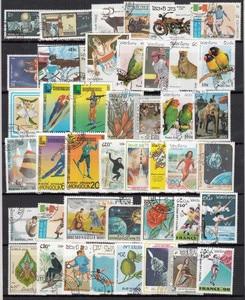 Image 4 - 1000 Teile/los Lot Verschiedenen Briefmarken Mit Post Markieren In Gutem Zustand Für Sammlung timbri stempel