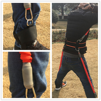 200 LBS New High Strength Heavy Exercise Boxing Resistance Bands Training Strap System For Boxing Equipment Same As Shadow Boxer 3