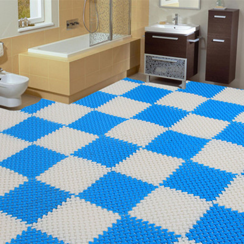 bathroom floor liner 25 x 25cm color pe skid bath bathroom 10655