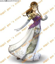 Free shipping New Arrival Custom Made High Quality The Legend Of Zelda Princess Zelda cosplay costumes