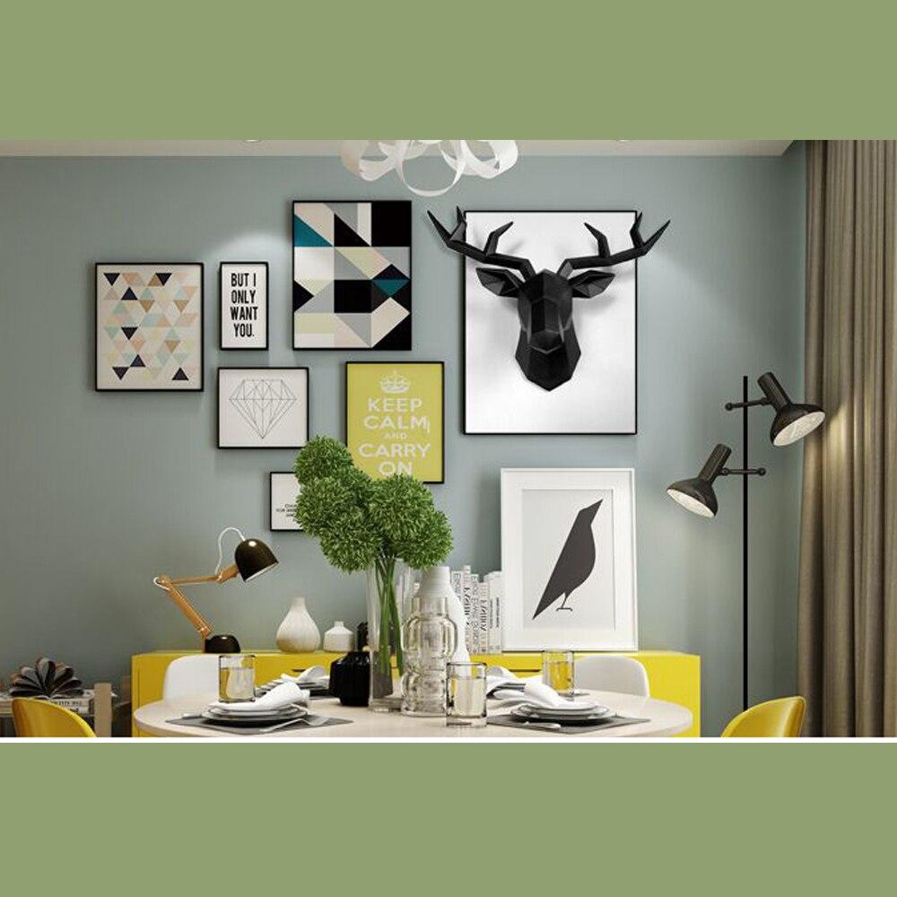 Furniture - 3D Deer Head Sculpture