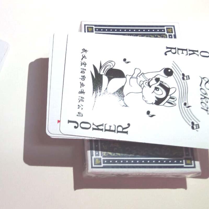 Barajas De Cartas Impermeable Tablero Tarjeta Poker Juegos Cartas De