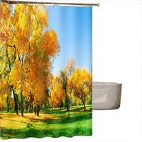 2017 Hot Sales Polyester Fabric High Quality Printing Waterproof Personality Fabric Bathroom Shower Curtain Aug1