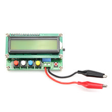 LC100-A 5 v Digitale LCD Capaciteit Meter Inductie Tafel LC Meter Frequentie 1pF-100mF 1uH-100H met Test Clip Hoge Kwaliteit(China)