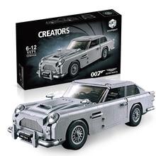 SLPF Assembling Building Blocks Brick Sports Car Model Kit DIY Children Educational Toys Boys Girls Gifts Compatible Legoing F17