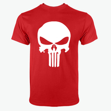 Punisher Summer Casual Fashion Cotton Short Sleeves Men's T-shirt