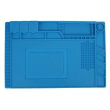 45*30 cm Heat Insulation Silicone Heater Pad Magnetic Heating Pad Repair Tools Antistatic Wrap Maintenance Platform Desk Mat
