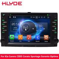 KLYDE 4G Octa Core Android 8.0 7.1 6.0 4GB RAM Car DVD Multimedia Player For KIA Sportage Spectra Sorento Euro Star Picanto CEED