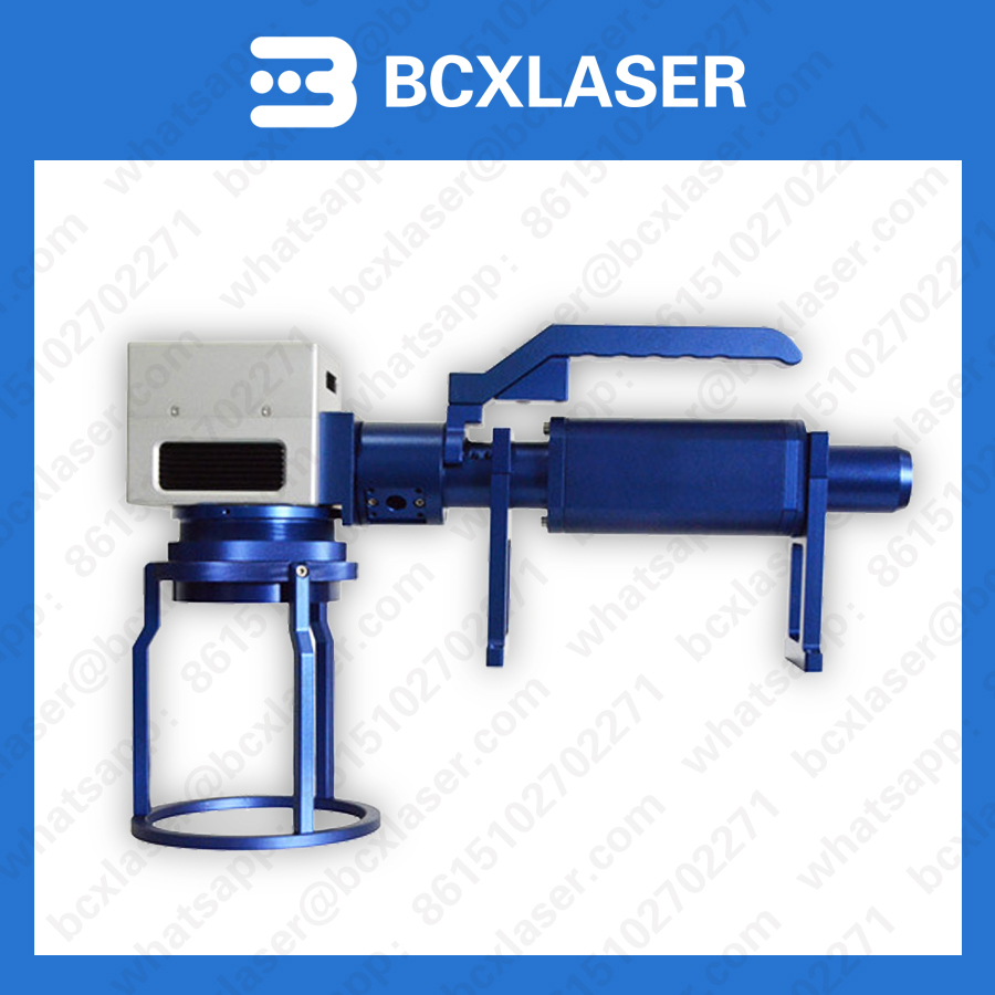 cheap price 10w20w30w online flying date code fiber laser marking machine on production line