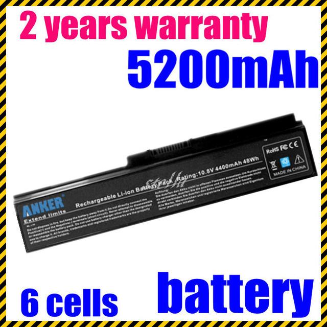 Batería para toshiba satellite l750 l650 series jigu pa3816u-1brs pa3817u-1brs pa3817u-1bas pa3817u-1brs pa3818u-1brs pa3819u-1brs