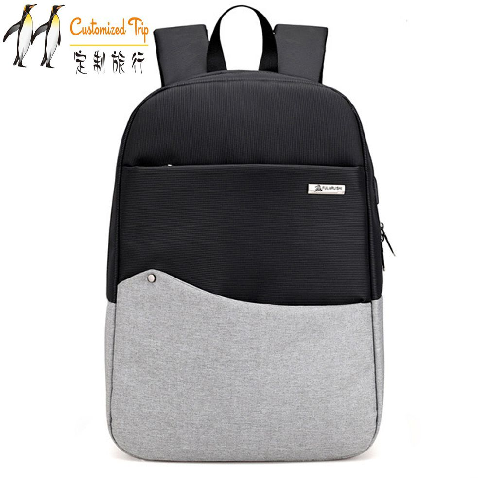 Customized Trip Multifunction Laptop Backpack External USB Charge Computer Backpacks Anti-theft Waterproof Bag for Men Women ozuko multi functional men backpack waterproof usb charge computer backpacks 15inch laptop bag creative student school bags 2018