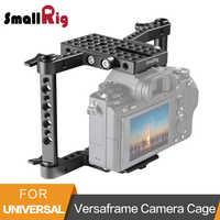 Jaula de cámara SmallRig Versaframe con varillas ajustables para Panasonic GH4/GH3/GH2/Sony A7/A7II/Canon/Nikon-1630