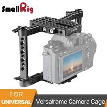 Panasonic gh4/gh3/gh2/sony a7/a7ii/canon/nikon 1630 용 가변 막대가있는 smallrig versaframe 카메라 케이지