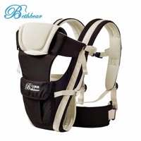 Bethbear 0 30 Months Baby Carrier Multifunctional 4 In 1 Adjustable Backpack Buckle Mesh Wrap Infant
