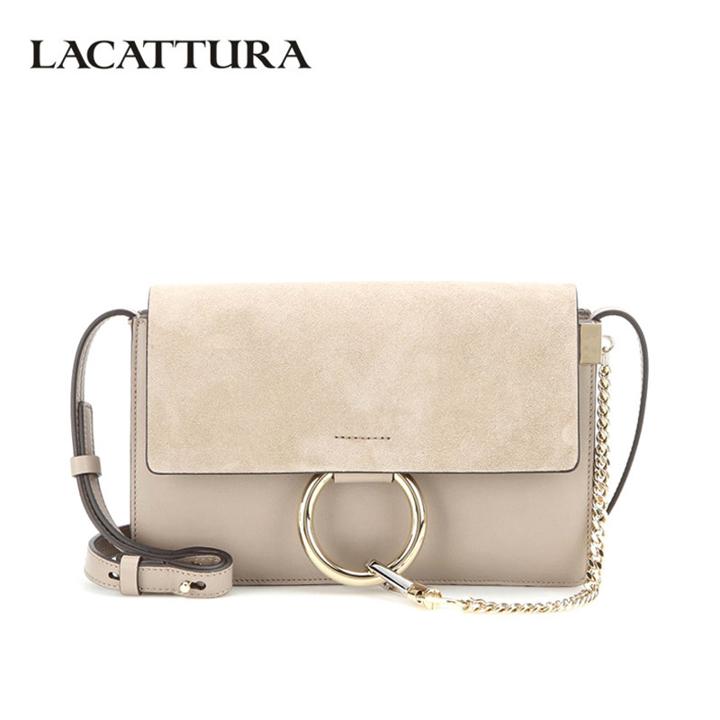 LACATTURA Luxury Flap Women Messenger Bags