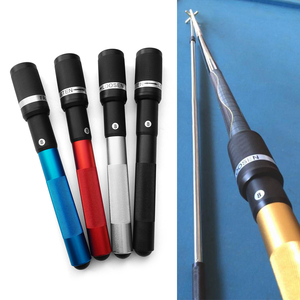Image 4 - 12.6IN Pool Cue Extension Billiard Extender Rotary Fixation Cue Stick Extension Club Tool for Billiards Snooker Accessories
