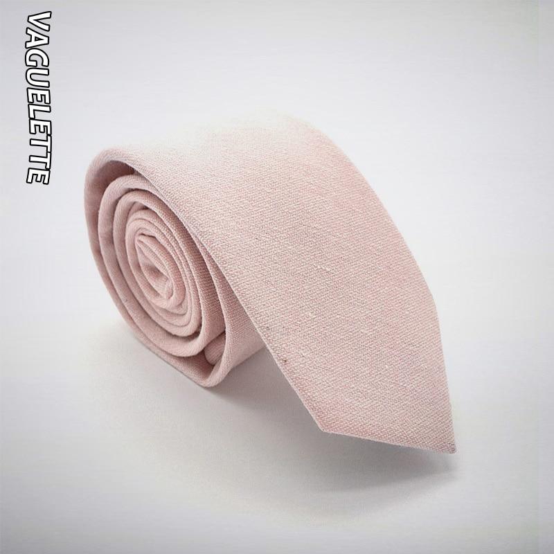 Handmade Rosa Hals Krawatte Für Männer 2019 Feste Beiläufige Dünne Krawatte Mens Hochzeit Strick Baumwolle Cravate Homme 6,5x145x3,5 Cm Herren-krawatten & Taschentücher