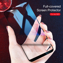 CAFELE Full Cover Tempered Glass for VIVO NEX S A Screen Protector Ultra Thin HD Clear Protective Anti Glare