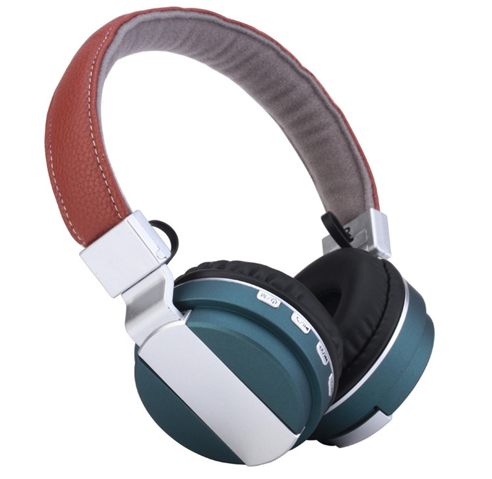 Bluetooth Headphone Foldable TF card FM Radio Over Ear HD Wireless headsets Good Bass With Microphone high quality zealot b5 bluetooth wireless headphones foldable tf card over ear hd headphone headsets with mic