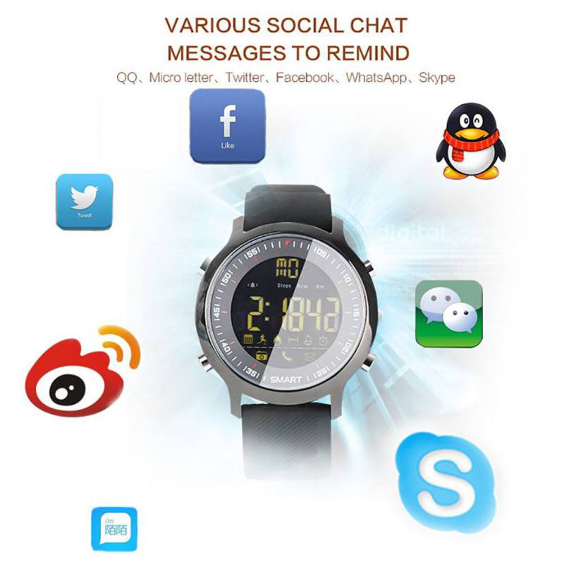 Multifunction Bluetooth Wristbands Smart Watch Sports  IP67 Waterproof Sleep Monitor Message Reminder For iOS Android Smart Band