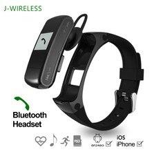 Jwireless F50 Спорт Фитнес трекер Bluetooth браслет сердечного ритма Мониторы шагомер MP3 плеер наушники для Android IOS Системы