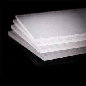 2-5mm thickness Clear Acrylic Perspex Sheet Cut Plastic Transparent Board Plexiglass Panel organic glass polymethyl methacrylate