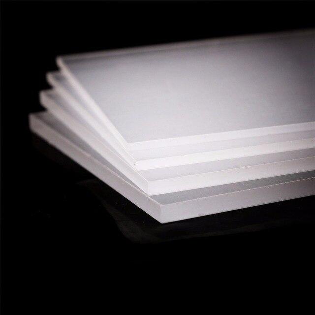 Hoja de acrílico de plexiglás transparente de 2-5mm de espesor, corte de placa transparente de plástico, Panel de plexiglás, metacrilato de polimetilo de vidrio orgánico