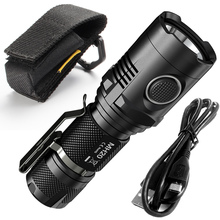 NITECORE MH20 1000 lumens CREE XM-L2 U2 CRI LED waterproof USB rechargeable flashlight without battery 18650 стоимость