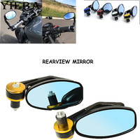 7/8 Inch 22MM Mirror Universal Motorcycle Rearview Mirror Aluminum Bar end mirrors For Yamaha YZF R1 R1 Yamaha MT 07 MT07 MT 07