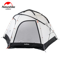 Naturehike factory sell new Cloud Burst Shelter 8 10 people Tent for Family team large camping tent 2 in 1 tent awning
