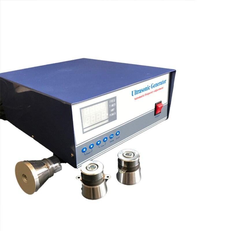 Ev Aletleri'ten Ultrasonik Temizleyici Parçaları'de 33 khz/135 khz 600 W çift frekanslı ultrasonik jeneratör  Piezoelektrik Dijital Ultrasonik Jeneratör title=